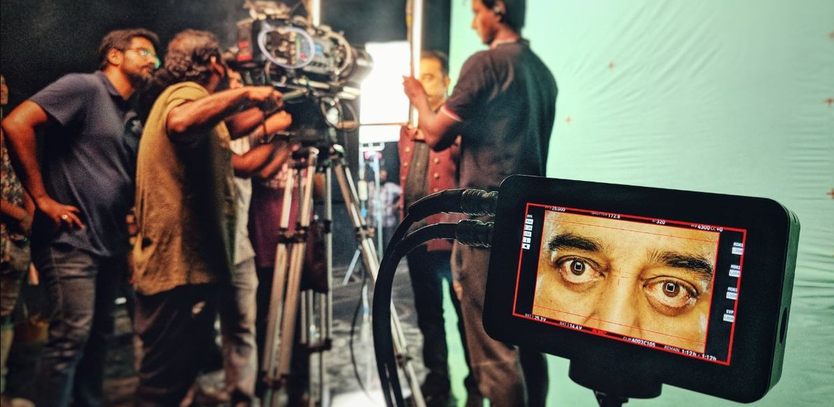 Bigg Boss Tamil 2 Promo 2 Shoot | Kamal Haasan's Magical Eyes