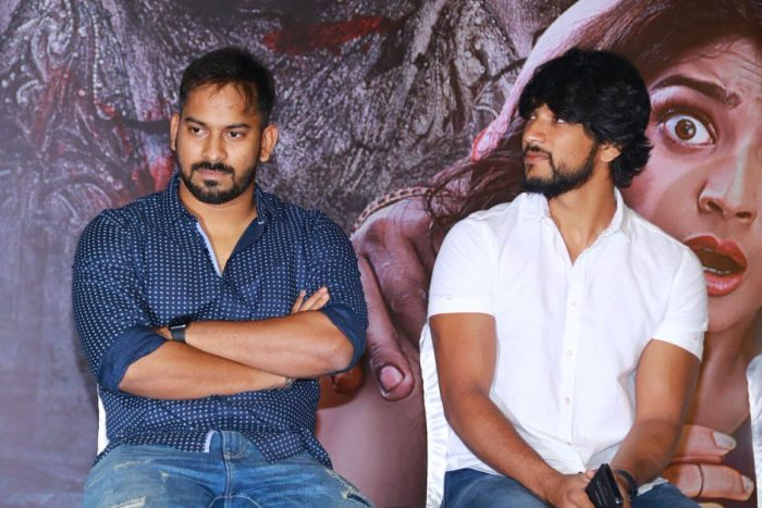 Santhosh P Jayakumar With Actor Gautham Karthik