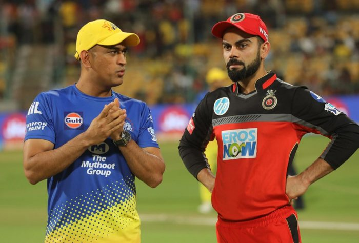 Kohli says CSK is better as an All-Rounder Team