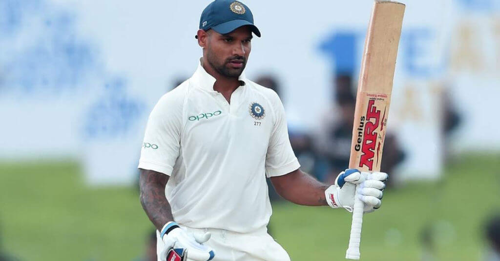 Shikhar Dhawan: First Indian to Score Century Before Lunch on First Day of a Test