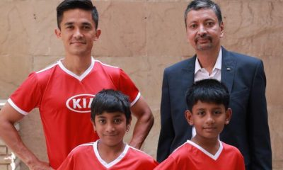 Two Schoolkids to represent India as Official Match Ball Carriers at FIFA 2018