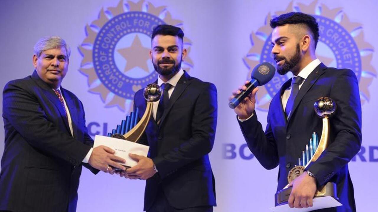 Virat Kohli To Receive Polly Umrigar Award For Best International Cricketer