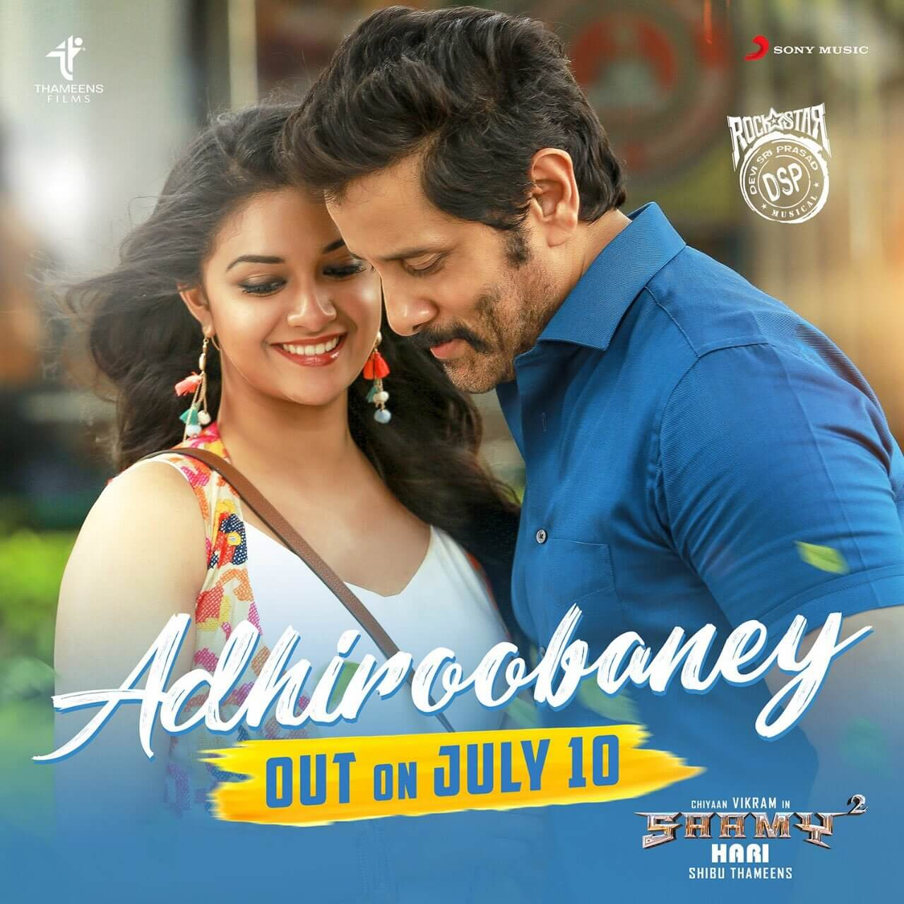 Saamy 2 First Single Adhiroobaney