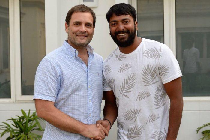Rahul Gandhi met Pa. Ranjith