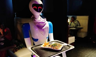 robot theme restaurant