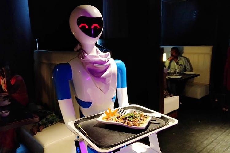 robot theme restaurant