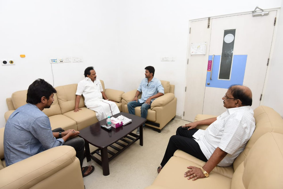 Actor Vijay at Kauvery Hospital