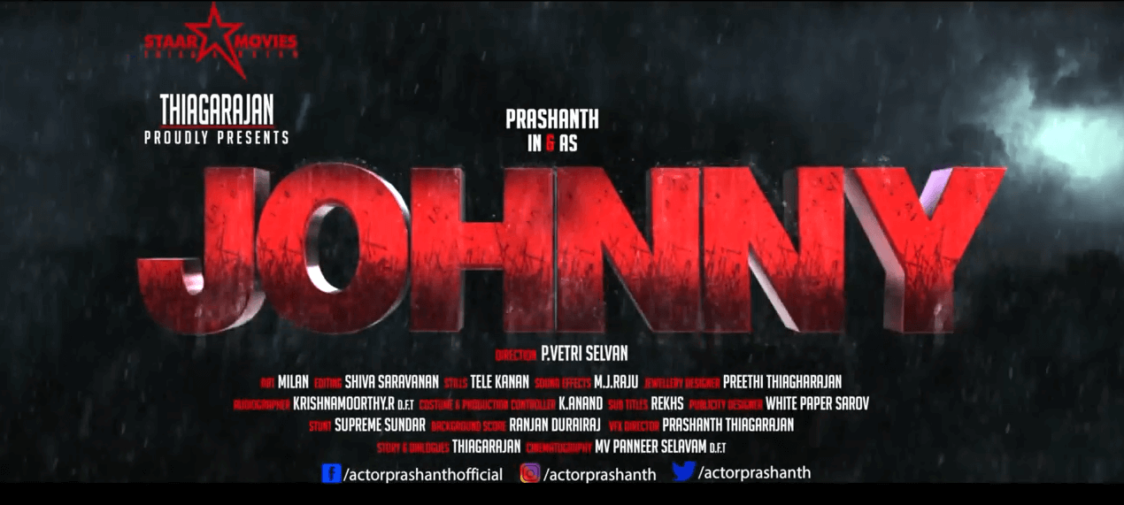 Johnny Tamil Movie 2018