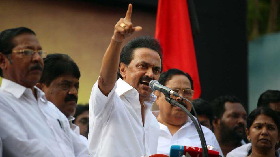 MK Stalin Takes Over As DMK President