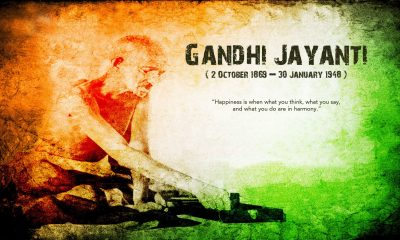 HappyGandhi Jayanti