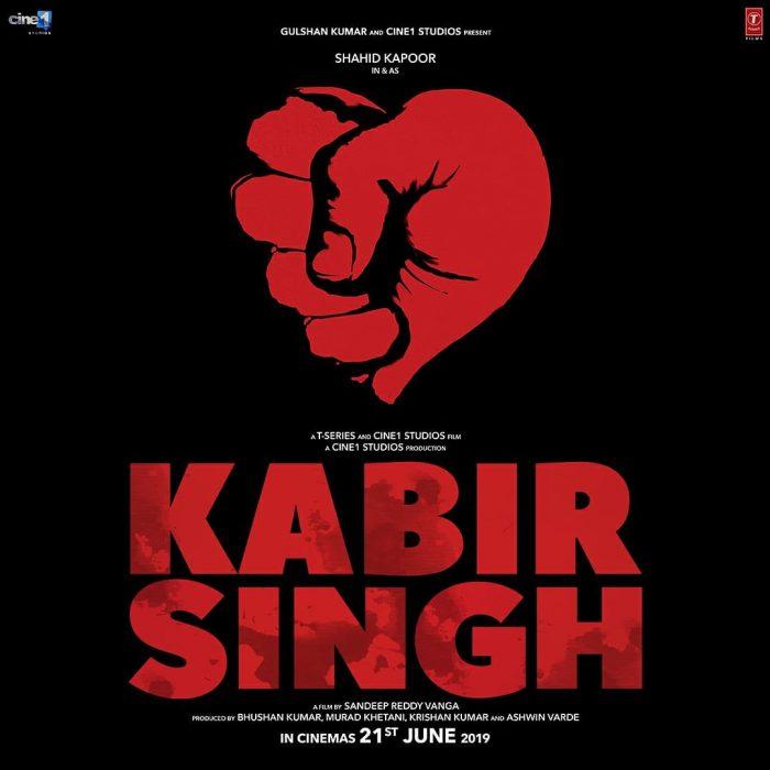 Kabir Singh First Look Poster