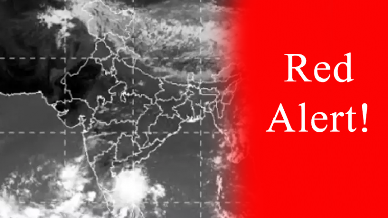 Image result for red alert in tamilnadu