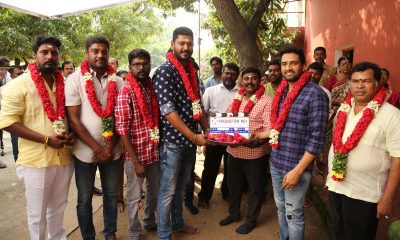 Santhanam's Untitled Movie Launch Pictures