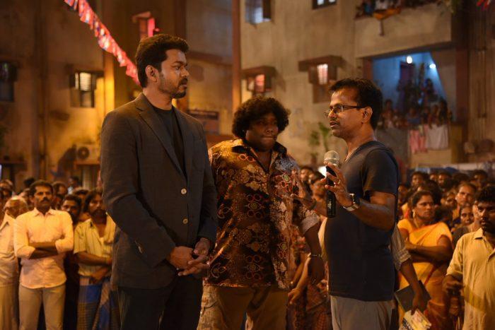 Sarkar Movie Working Pictures