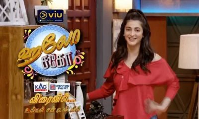 Shruti Haasan Turns TV Host