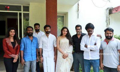 Vada Chennai Press Meet Images