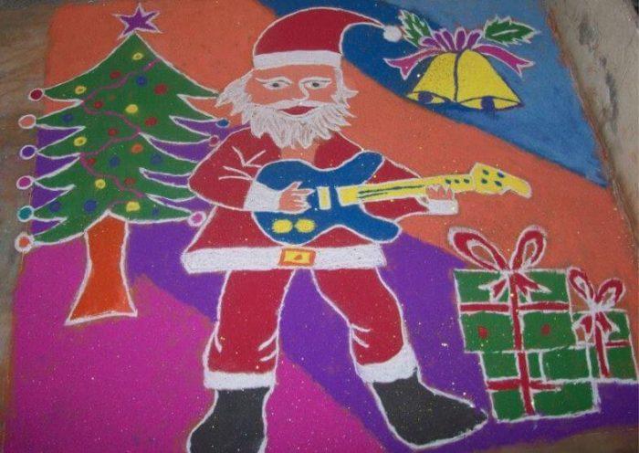 Christmas Kolam