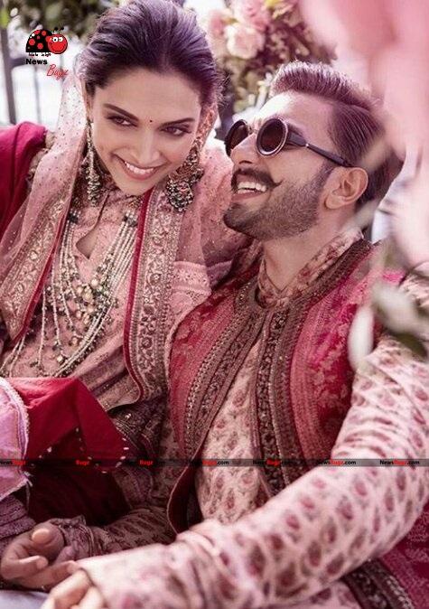 Ranveer Singh and Deepika Padukone Wedding Images