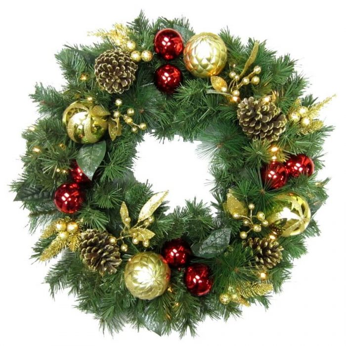 Happy Christmas Wreath Images