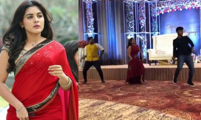 Nivetha Thomas Dancing in a Party