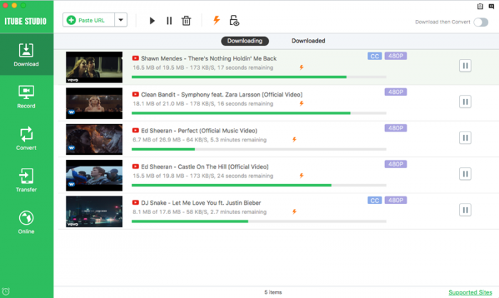iTube HD Video Downloader Screenshots