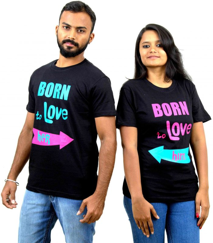 Born to Love Couple T-Shirt