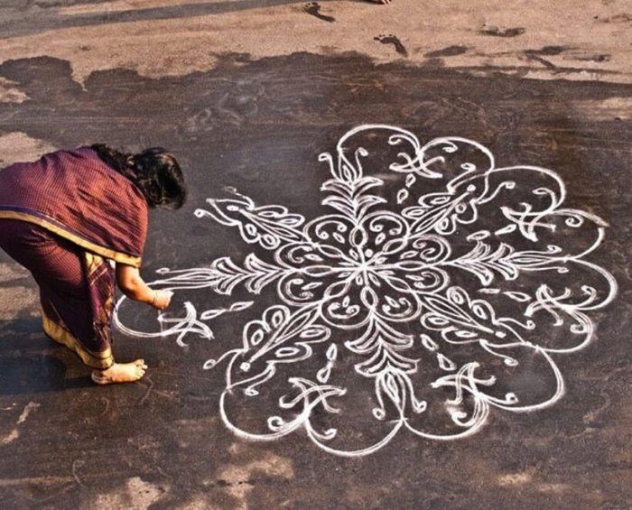 Pongal Kolam Images