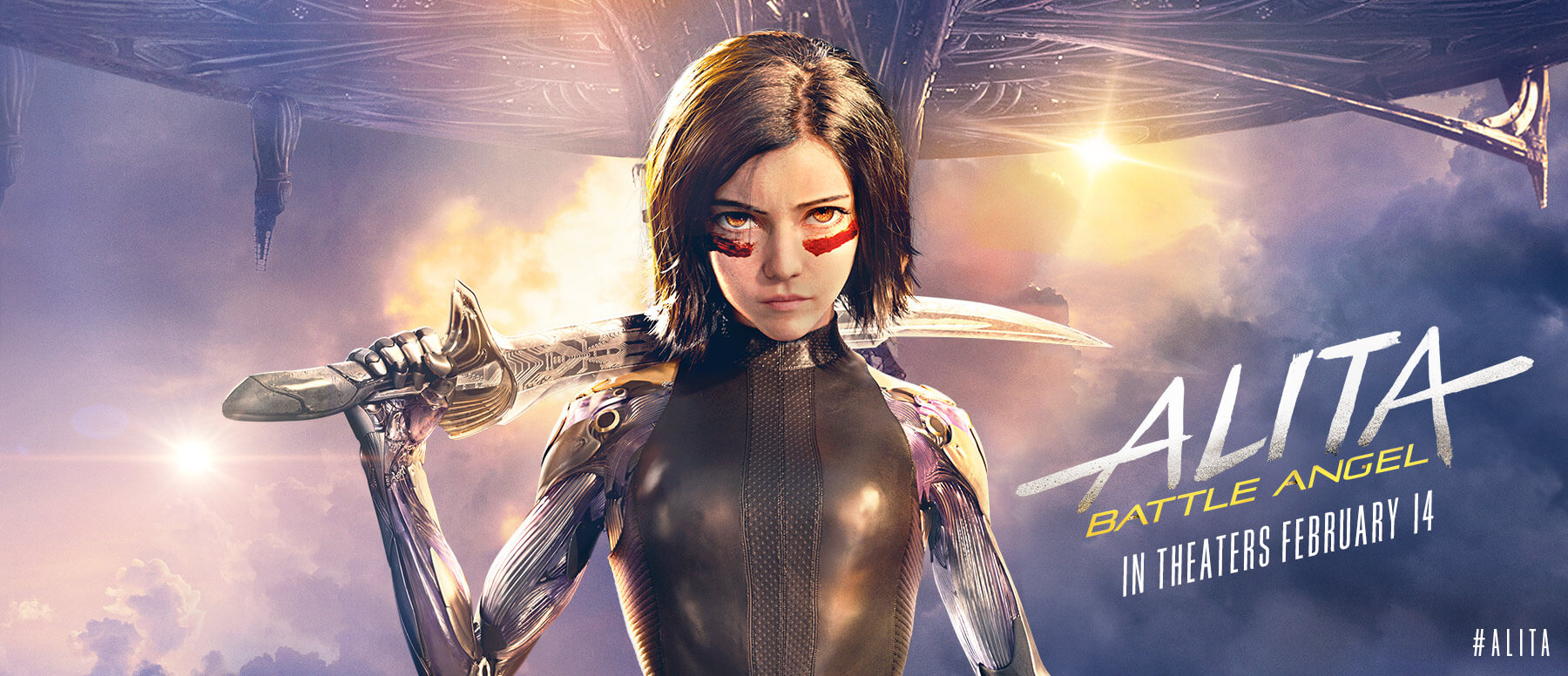 alita  battle angel movie  2019