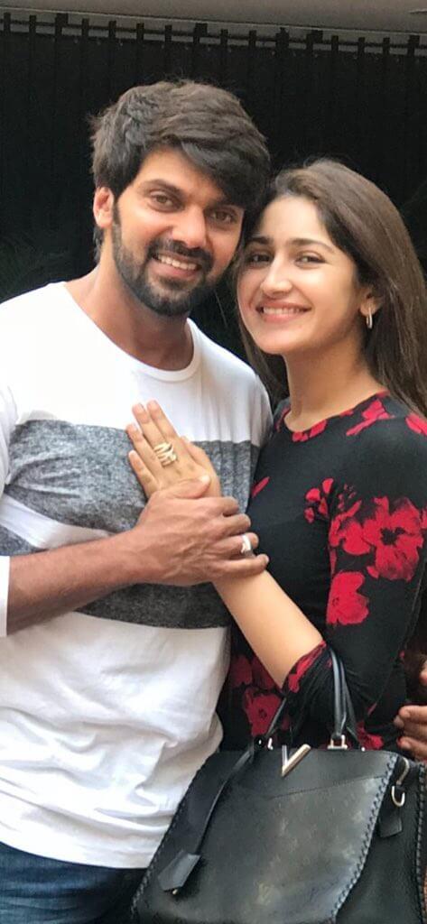 Arya and Sayyeshaa Marriage Images