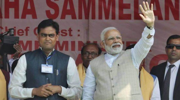 Narendra Modi-EPS Tirupur meet