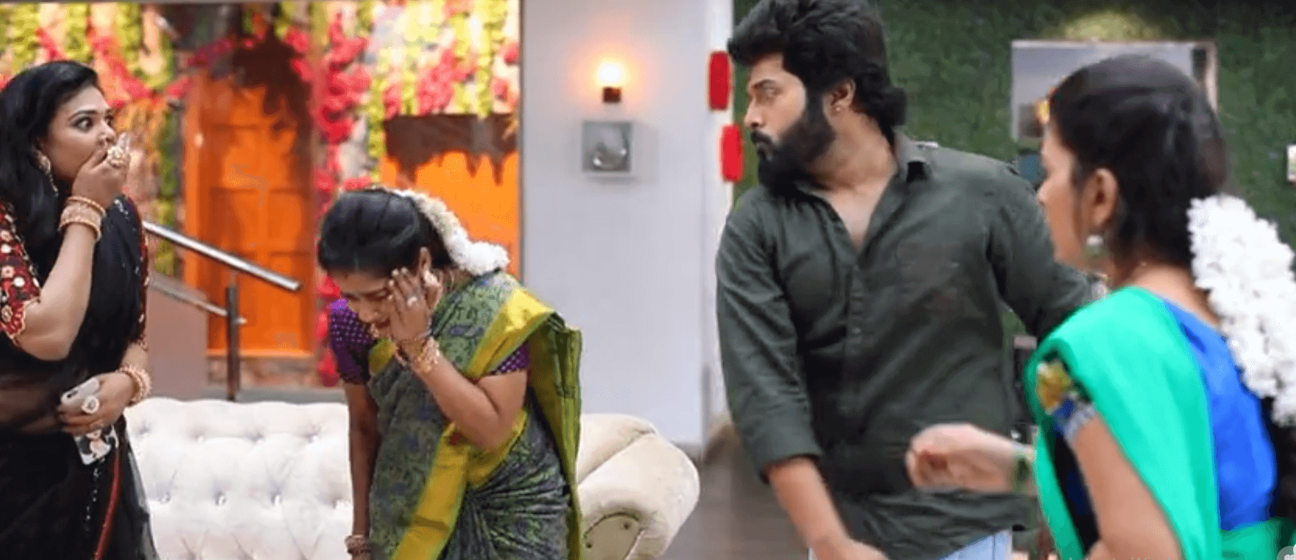 sembaruthi serial today episode 20 02 2019 promo review