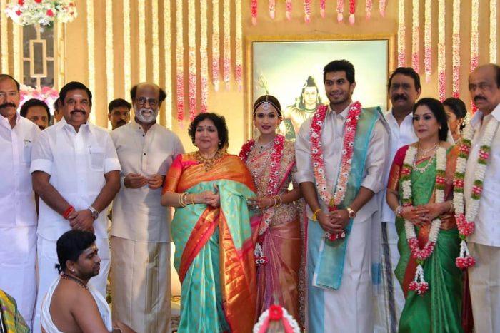 Soundarya Rajinikanth and Vishagan Vanangamudi Marraige Photos