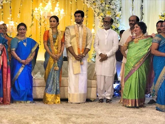 Soundarya Rajinikanth and Vishagan Vanangamudi Marriage Images