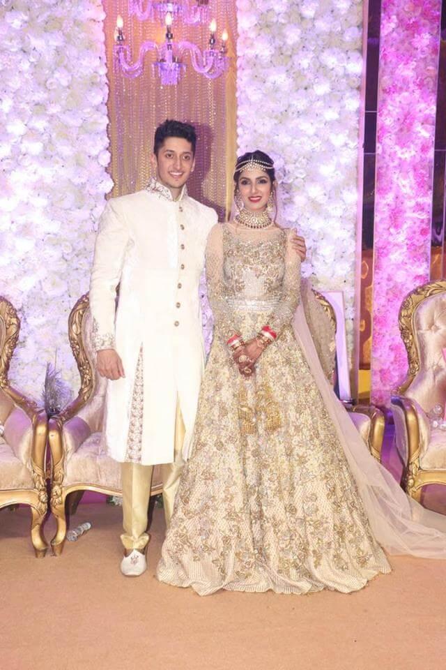 Azhar Morani and Tanya Seth Wedding Images