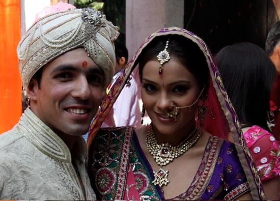 Aditya Shroff and Megha Gupta Wedding