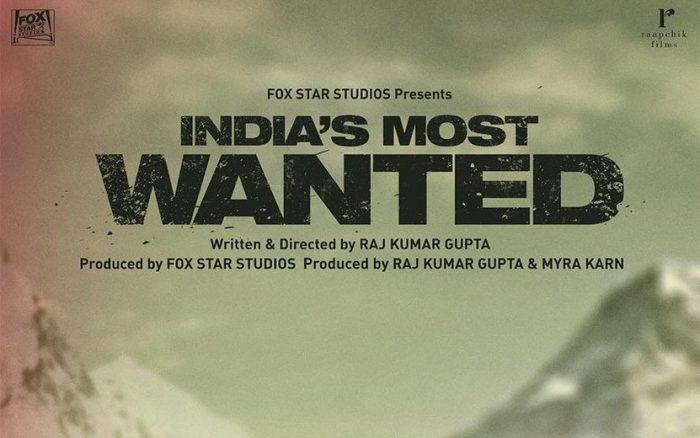 Indias Most Wanted Hindi Movie