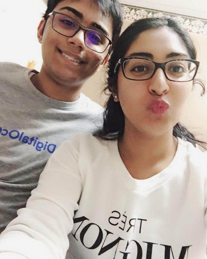 Tanmay Bakshi Sister