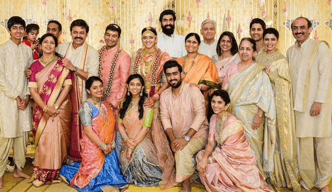 Vinayak Reddy Family