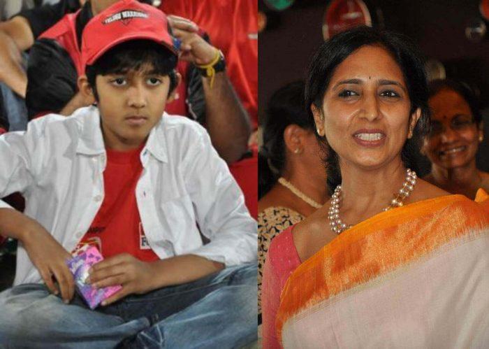 Arjun Daggubati Mother Venkatesh Neeraja