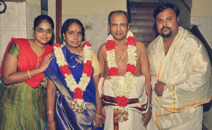 Rajesh Giriprasad Family