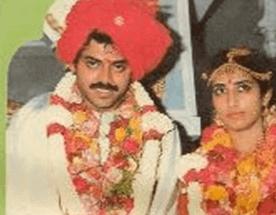 Venkatesh Daggubati Wife Venkatesh Neeraja Wedding Photos