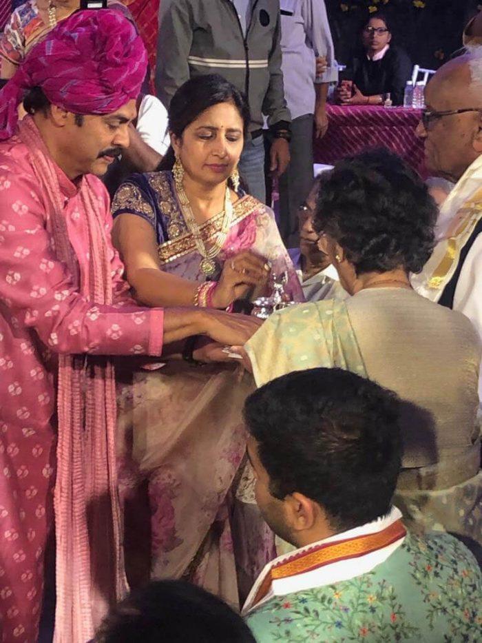 Venkatesh Neeraja Family