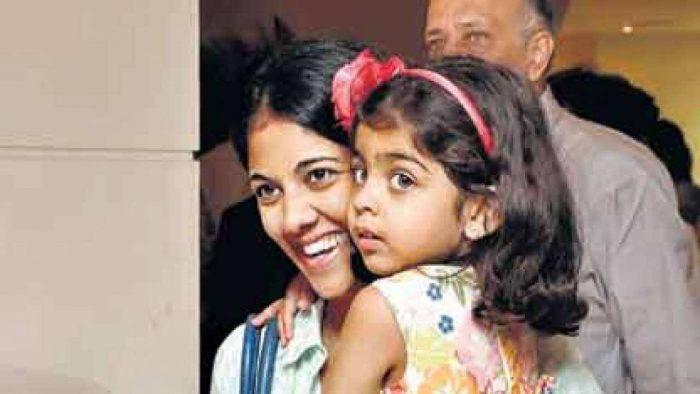 Aditi Premji with her daughter Rhea