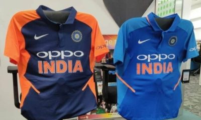 Indian Players Wears Orange Jersey Against England