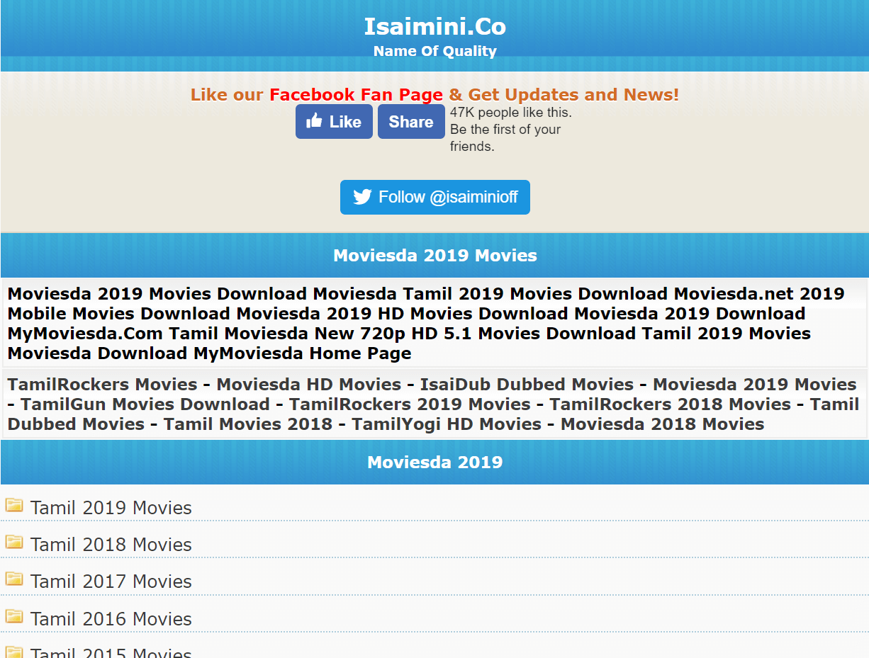 Isaimini tamilrockers 2020 movie download
