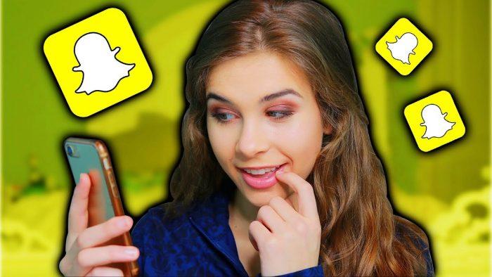 Filles Snapchat