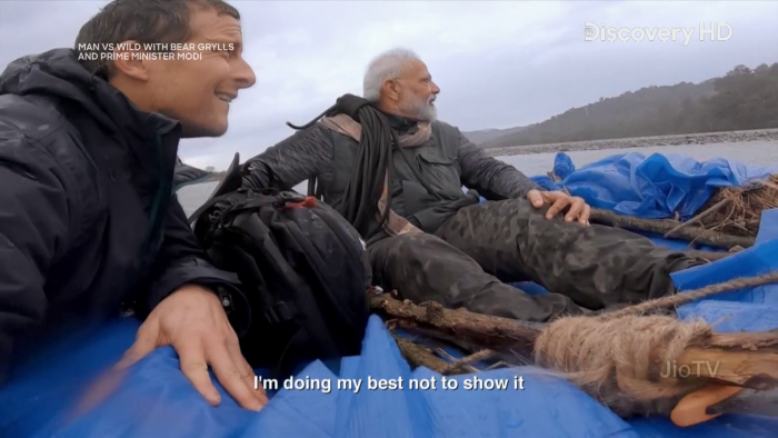 PM Modi in Man vs Wild Episode Download 2019: Bear Grylls Full Show