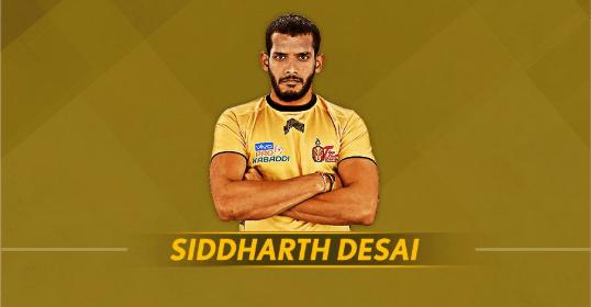 Siddharth Sirish Desai - Telugu Titans