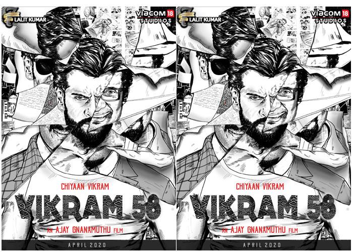Chiyaan Vikram 58 Amar Movie