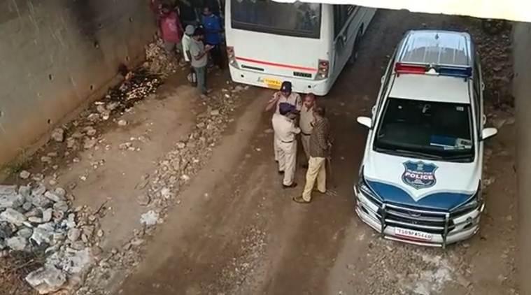 Hyderabad Rapists encountered